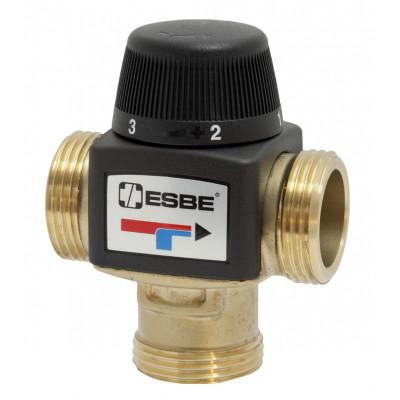 Клапан термостатический смесительный ESBE VTA372 (DN20,Kvs3.4,PN10,НР 1