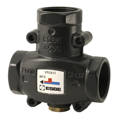 Клапан термостатический смесительный ESBE VTC511 (DN32,Kvs14,PN10,ВР 1